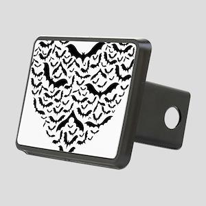 Bat heart Rectangular Hitch Cover