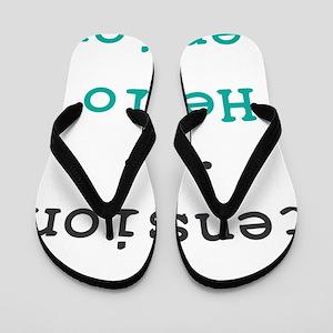 Goodbye tension Flip Flops