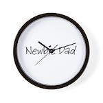 Newbie Dad Wall Clock