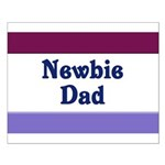 Newbie Dad Small Poster