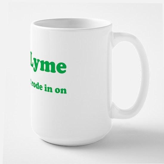 F#@% Lyme - Green Large Mug