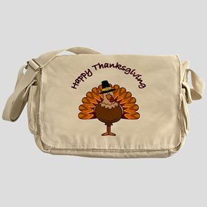 Thanksgiving Turkey Messenger Bag