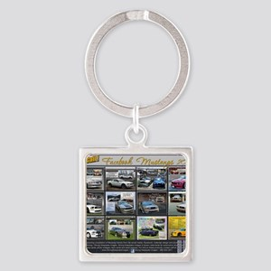 2013 Last Call! Mustangs V4 Facebo Square Keychain