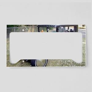 Ron Foremans 31 Model A Sedan License Plate Holder