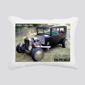 Ron Foremans 31 Model A  Rectangular Canvas Pillow