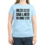 Life Gives You Lemons, Sugar and Water Women's Lig