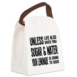 Life Gives You Lemons, Sugar and Water Canvas Lunc