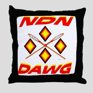SOUTHEAST TRIBAL STICKBALL Throw Pillow