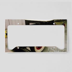 Trevor Robinsons 29 Ford Noth License Plate Holder