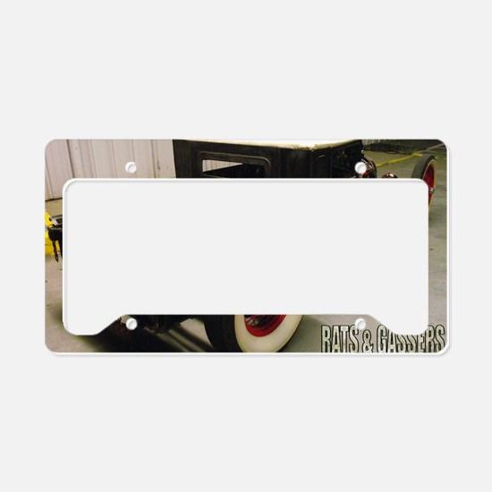 Trevor Robinsons 29 Ford Noth License Plate Holder