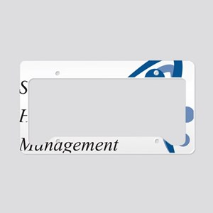 Kaplan SHRM Logo License Plate Holder