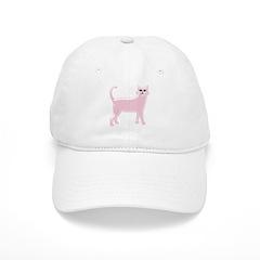 Pink Cat Baseball Cap