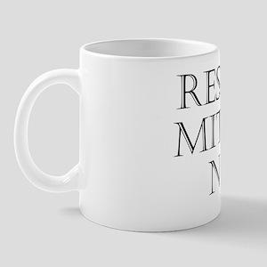 Res Firma Mitescere Nescit Mug
