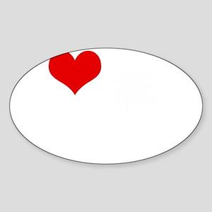I Love 90210 Sticker (Oval)