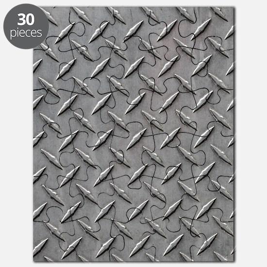 Diamond Plated Steel Puzzle