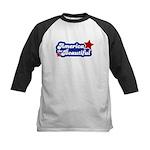 America Beautiful Kids Baseball Jersey