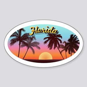 Florida Sticker (Oval)