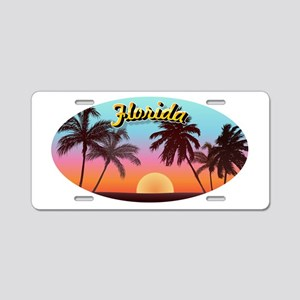 Florida Aluminum License Plate