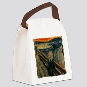 The Scream Canvas Lunch Bag