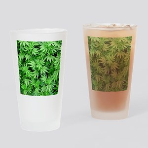 Marijuana Drinking Glass