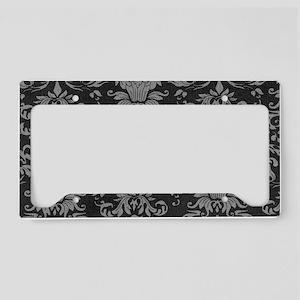 Art Nouveau License Plate Holder
