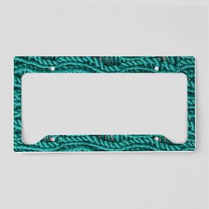 Yarn Pattern License Plate Holder