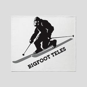 Bigfoot Teles Throw Blanket