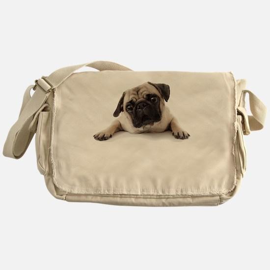Pugs Not Drugs Messenger Bag