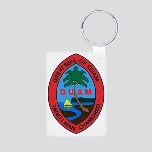 GUAM SEAL Aluminum Photo Keychain