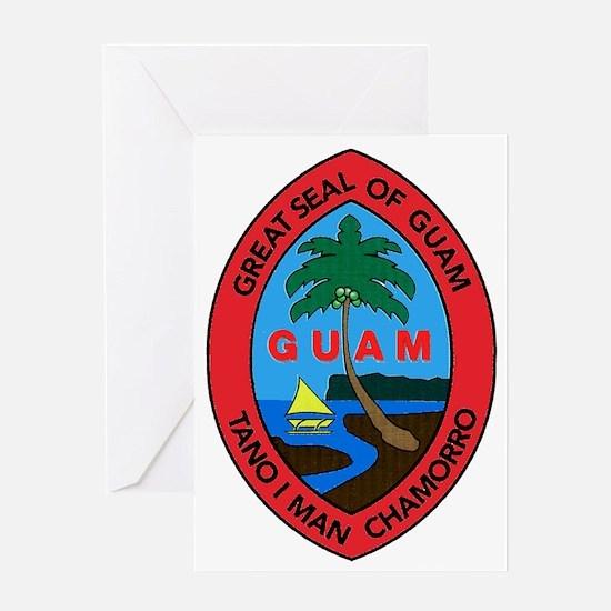 GUAM SEAL Greeting Card