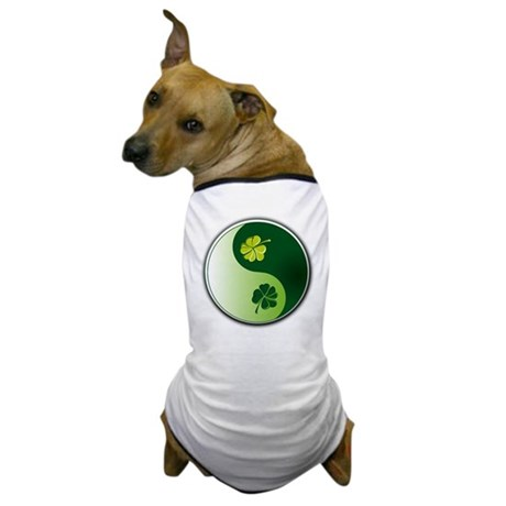 Ying Yang Irish! Dog T-Shirt