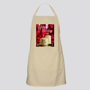 Eastern Star Holiday Card Apron