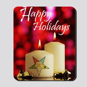 Eastern Star Holiday Card Mousepad