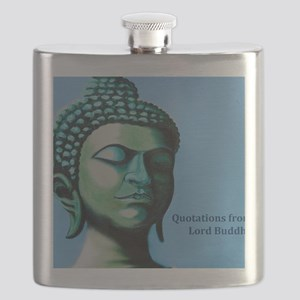 Buddha Spiritual Saying Flask