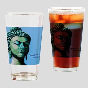 Buddha Spiritual Saying Drinking Glass