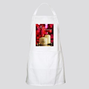 Masonic Christmas Card Apron