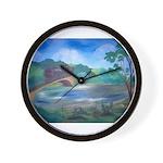 Missouri River Wall Clock