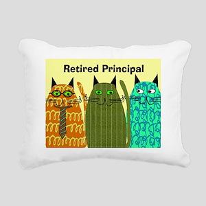 Retired Principal Blanke Rectangular Canvas Pillow