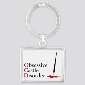Obsessive Castle Disorder Landscape Keychain
