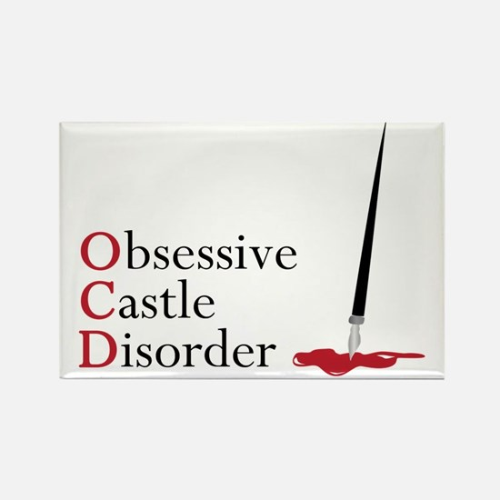 Obsessive Castle Disorder Rectangle Magnet