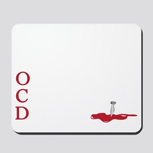 OCD, obsessive castle disorder Mousepad