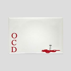 OCD, obsessive castle disorder Rectangle Magnet