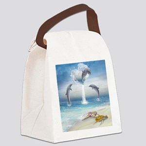 thotd_shower_curtain Canvas Lunch Bag