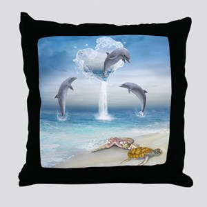 thotd_shower_curtain Throw Pillow