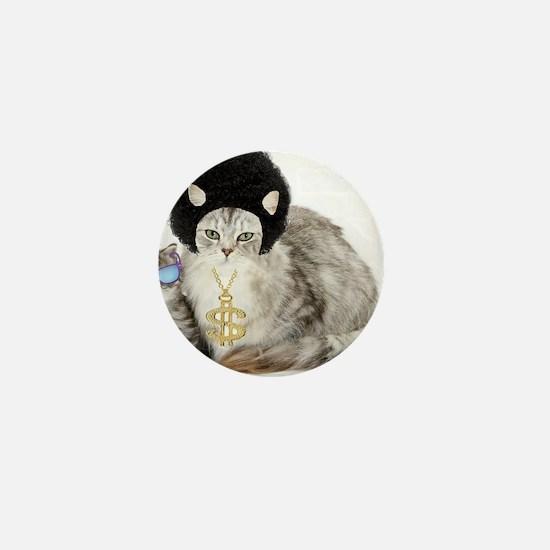 Ghetto kitty Mini Button