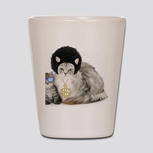 Ghetto kitty Shot Glass