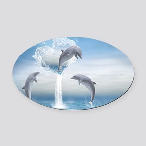 thotd_pillow_case Oval Car Magnet