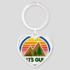 Galts Gulch Heart Keychain