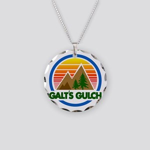 Galts Gulch Necklace Circle Charm
