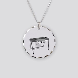 Man Of Steel Pedal Steel Gui Necklace Circle Charm